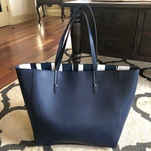 NWT large leather GAP tote
